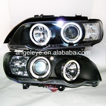 1999-2003 metų BMW už X5 E53 Žibintas LED Angel Eyes