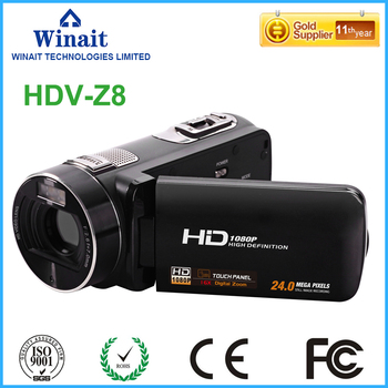 2017 New style camera video professional max 24mp FHD 1080p 16x digital zoom photo camera digital camcorder with 3.0