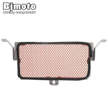 Bjmoto Motorbike Stainless steel Radiator Oil Cooler ProtectorGrill guard For BMW S1000R-S1000RR 2010-2016 HP4 S1000XR