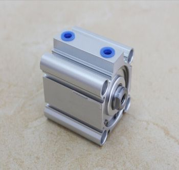 Bore 50mm x60mm stroke SMC compact CQ2B Series Compact Aluminum Alloy Pneumatic Cylinder