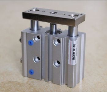 Bore size 40mm* 200mm stroke SMC Type Compact Guide Pneumatic Cylinder/Air Cylinder MGPM Series