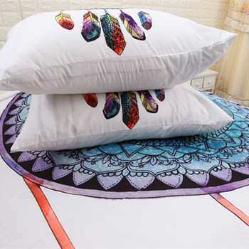 Fanaijia dream catcher Duvet Cover and Bedding Set Bohemian Print with pillowcase 3pcs Design Queen size Bed gift bedline