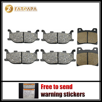 FL + FR + R Brake Pads Fit For YAMAHA 1100 XVS V-star XVS1100 2008 2009