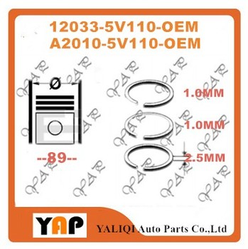 FOR FITNISSAN KA24DE TRUCK D22 URVAN E25 VE24 Engine Piston w/ Ring Set 2.4L L4 16V STD 12033-5V110 12033-VJ260 A2010-5V110 2002