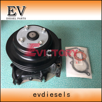 Genuine type 10PC1 10PC1T water pump for Isuzu CXZ truck 1-13610789-3