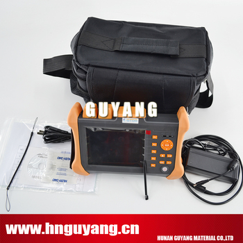 GUYANG GY300A 5.6 colių touchscreen Multilanguage Optinis Laiko Domain Reflectometer 120km OTDR 1310/1550nm 30/28DB su VFL