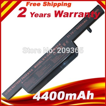 New battery for Clevo C4500 C4500BAT-6 6-87-C480S-4P4 series 11.1v 4400mah 6cell