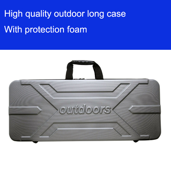 Tool case long gun case outdoors luggage special luggage box plastic toolbox safety box suitcase with foam lining